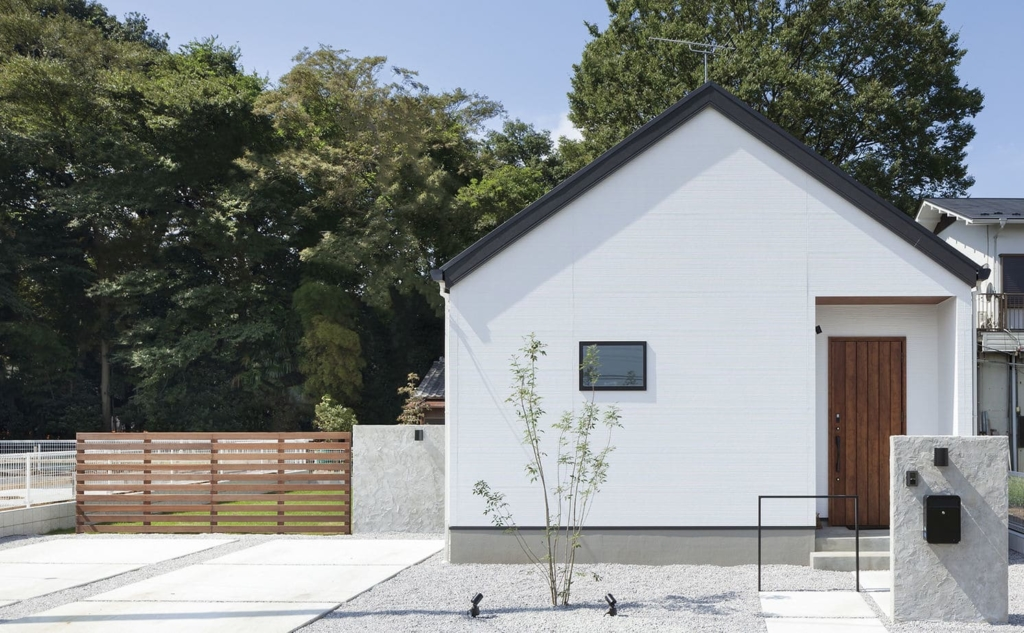 21.4坪の家の外観