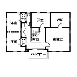 53.1坪の家の間取り図
