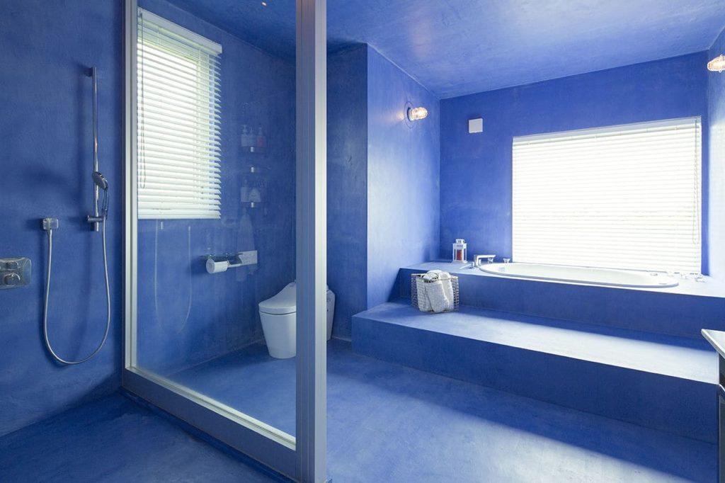 注文住宅で4000万円台の家の内観(浴室)