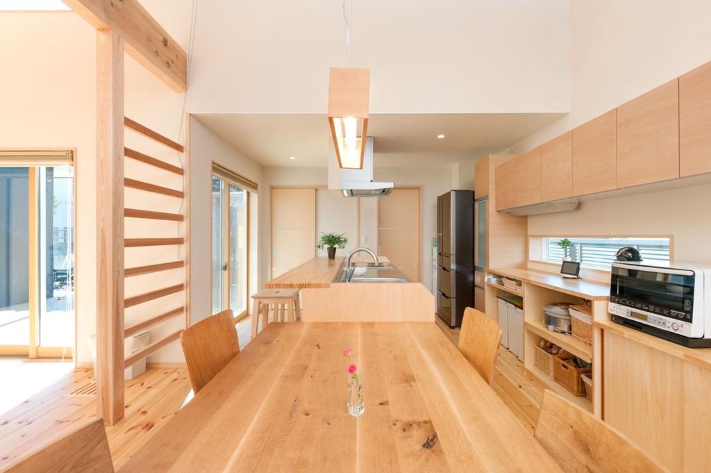 注文住宅で2000万円台の家の内観(DK)