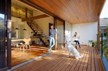 注文住宅で4000万円台の家の内観(バルコニー)
