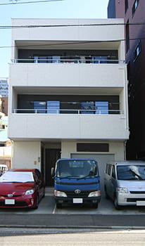 71.0坪の家の外観