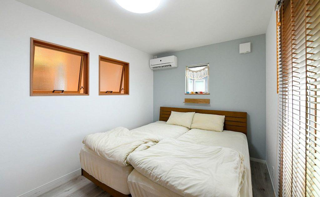 ローコスト住宅の内観(寝室)