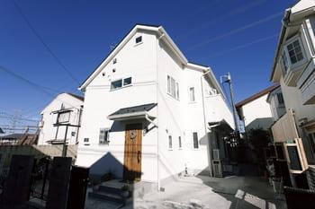 注文住宅で3000万円台の家の外観