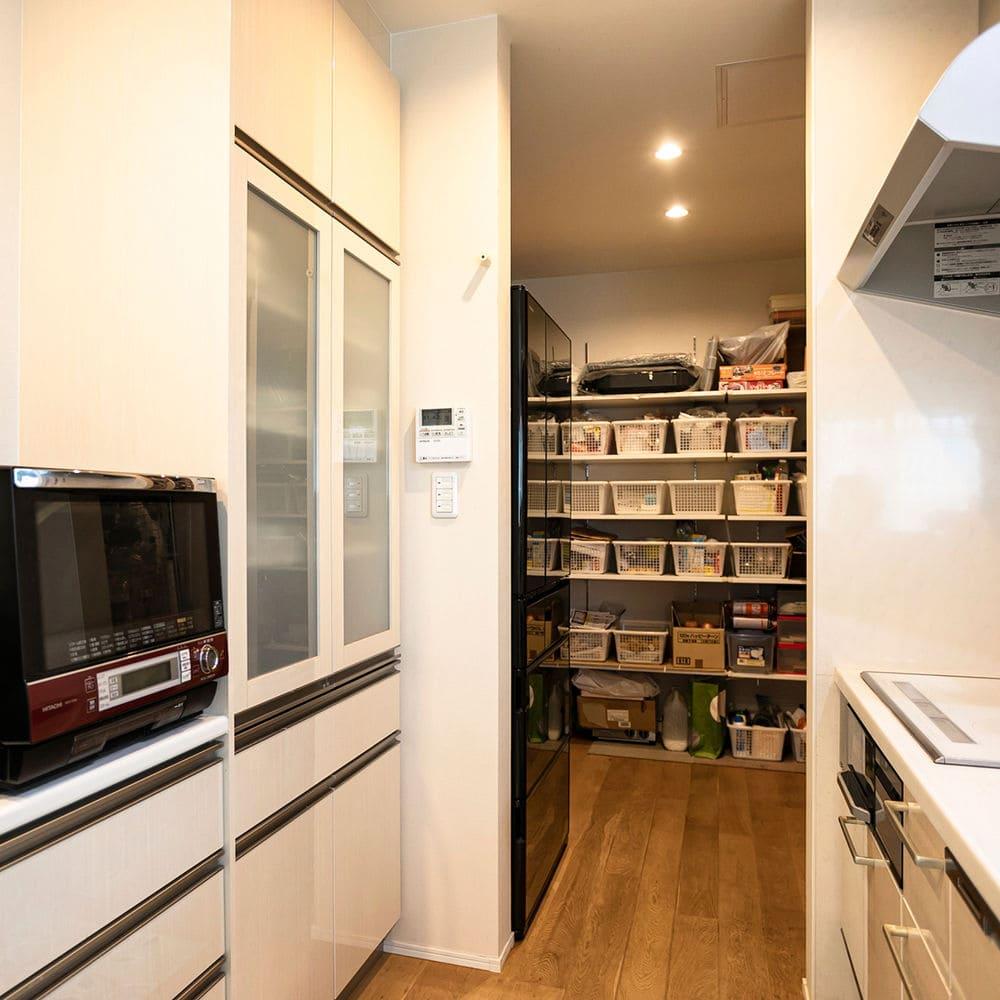 67.8坪の家の内観(キッチン)