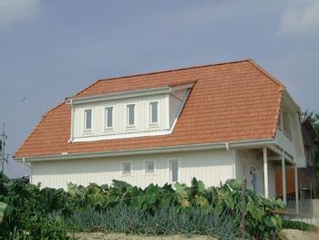 注文住宅で4000万円台の家の外観