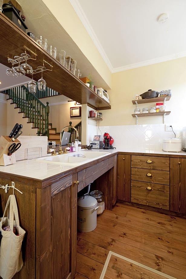 45.2坪の家の内観(キッチン)