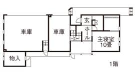68.6坪の家の間取り図