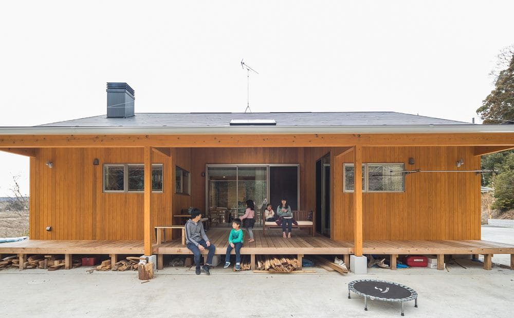38.5坪の家の外観