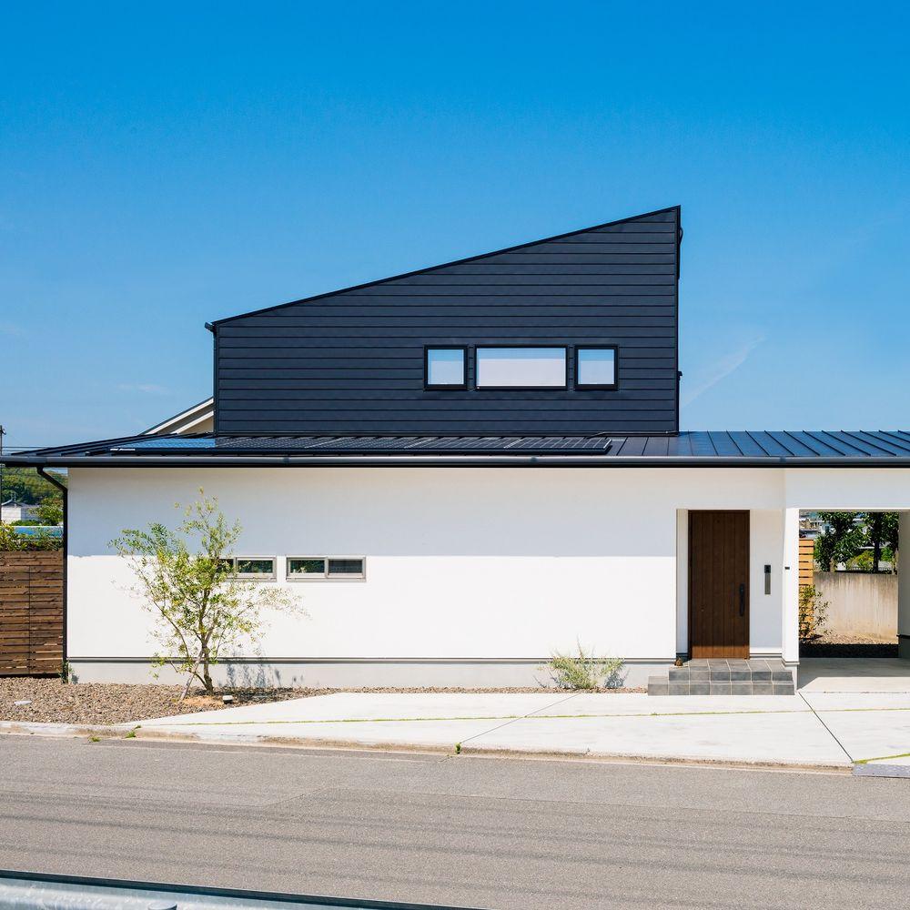 51.5坪の家の外観