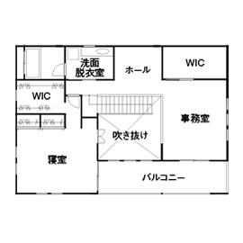55.1坪の家の間取り図