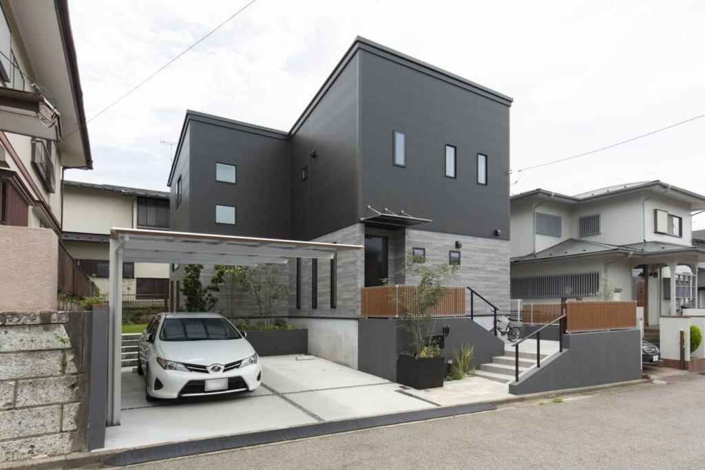 36.5坪の家の外観
