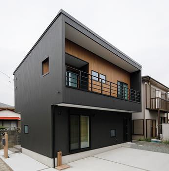 24.0坪の家の外観