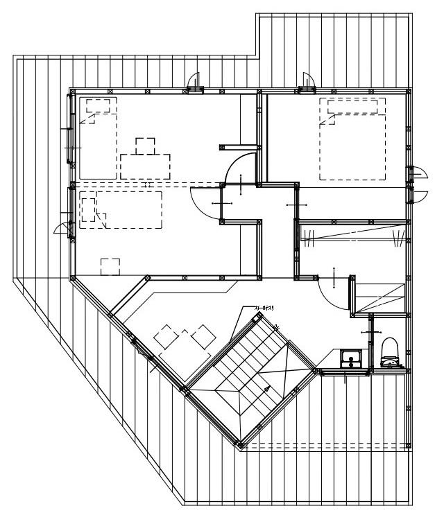 28.8坪の家の間取り図