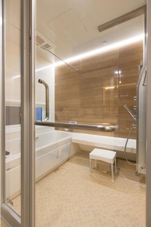 注文住宅で3000万円台の家の内観(バスルーム)