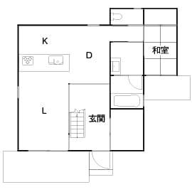 1,547万円の家の間取り図