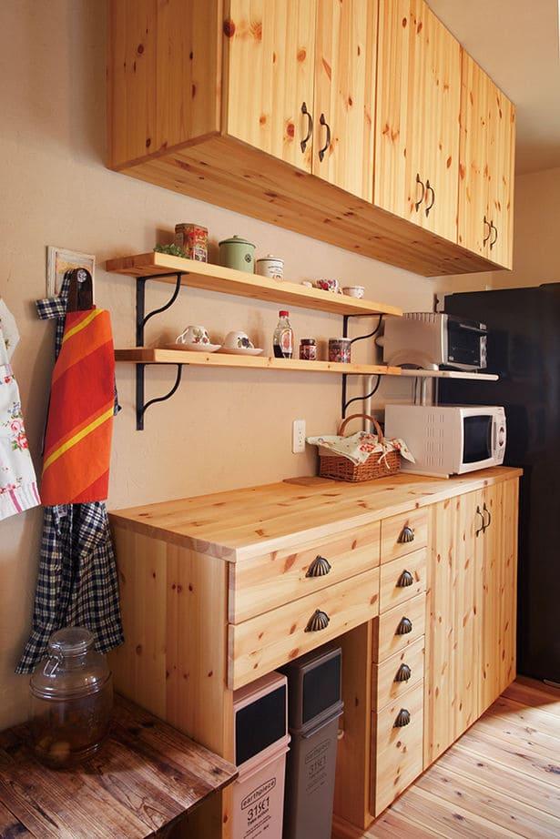 33.5坪の家の内観(キッチン)