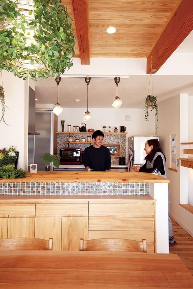 32.4坪の家の内観(キッチン)