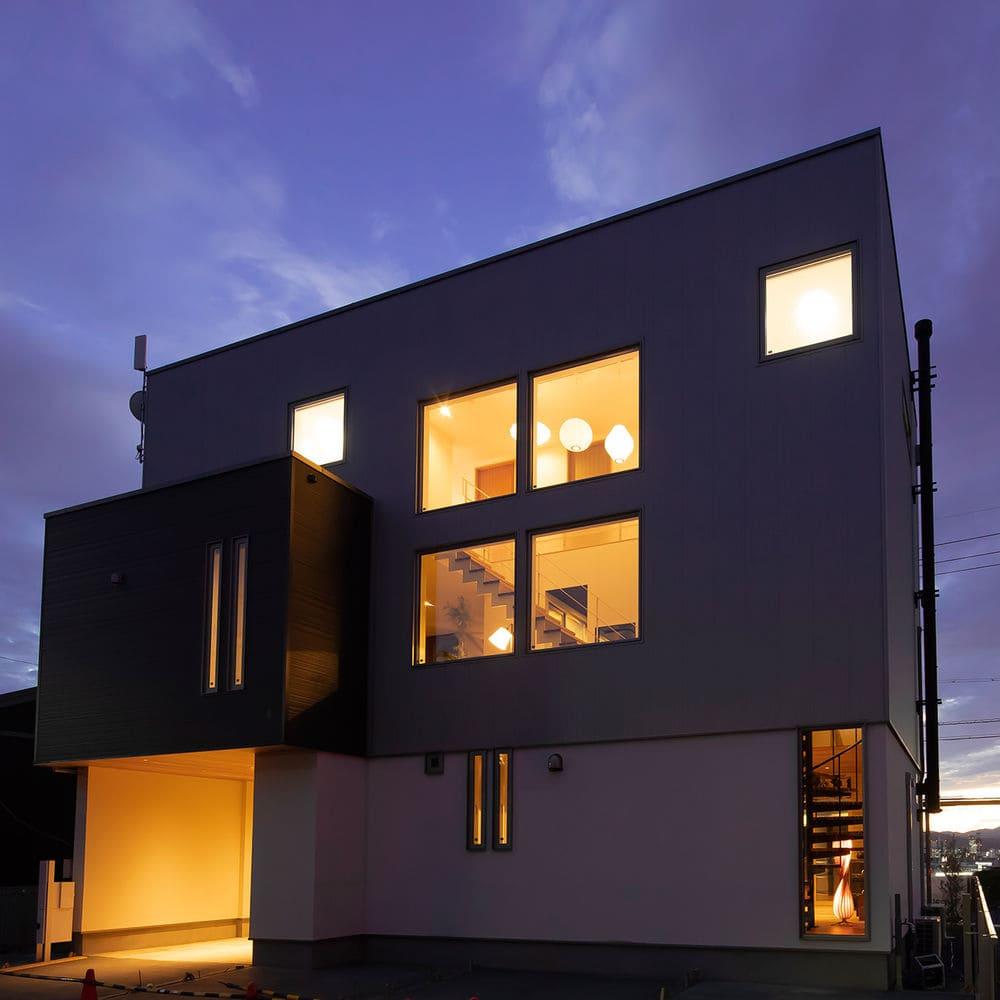 注文住宅で5000万円以上する家の外観