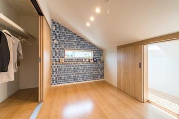 24.3坪の家の内観(寝室)