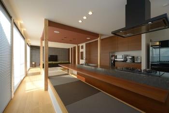 注文住宅で4000万円台の家の内観(DK)