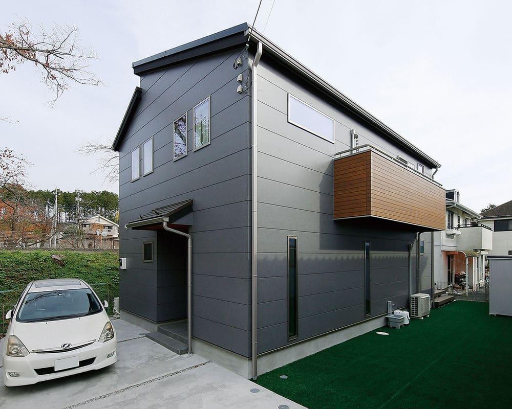 33.5坪の家の外観