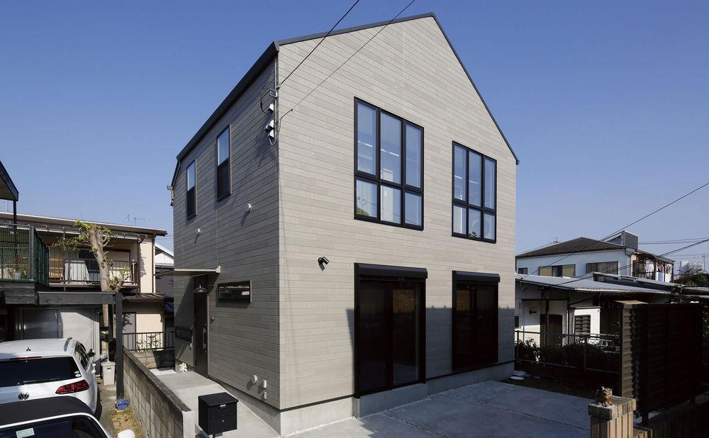 1600万円の家の外観