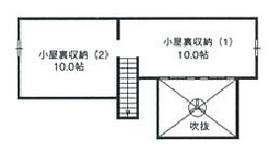 57.8坪の家の間取り図