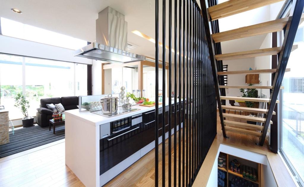 39.8坪の家の内観(キッチン)
