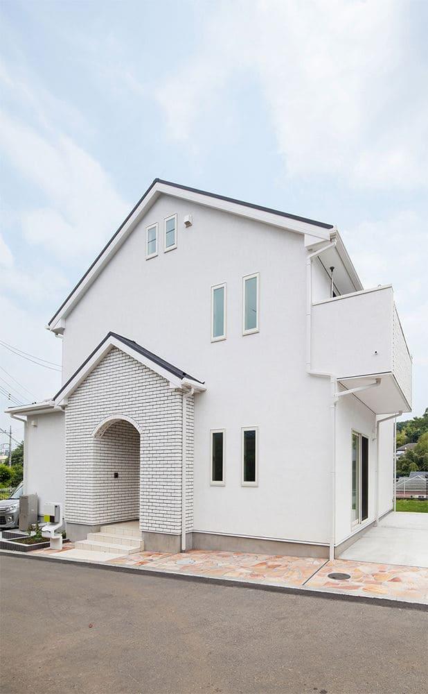 37.5坪の家の外観