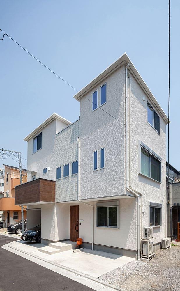 注文住宅で2000万円台の家の外観