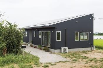 1,240万円の家の外観