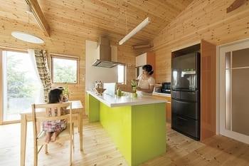1,240万円の家の内観(キッチン)