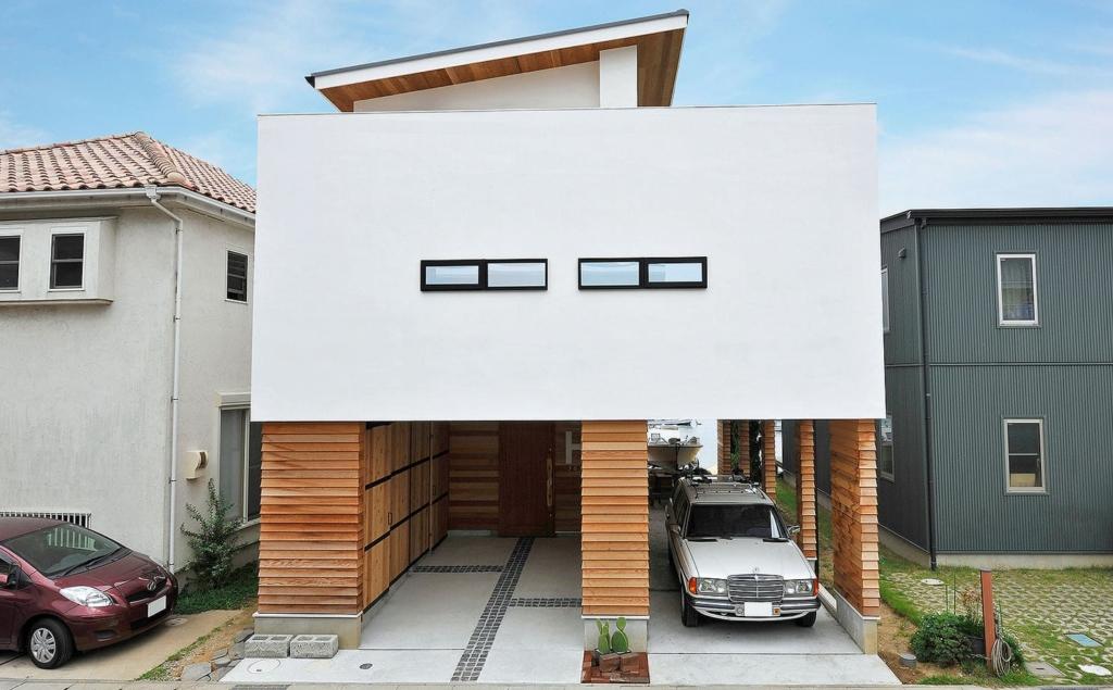 52.0坪の家の外観