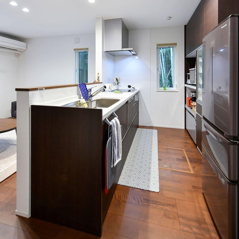 1,314万円の家の内観(キッチン)