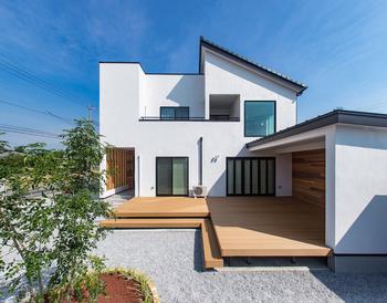 57.8坪の家の外観