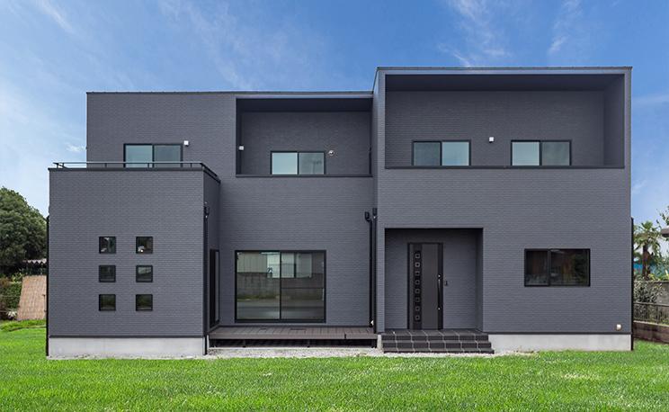 53.0坪の家の外観