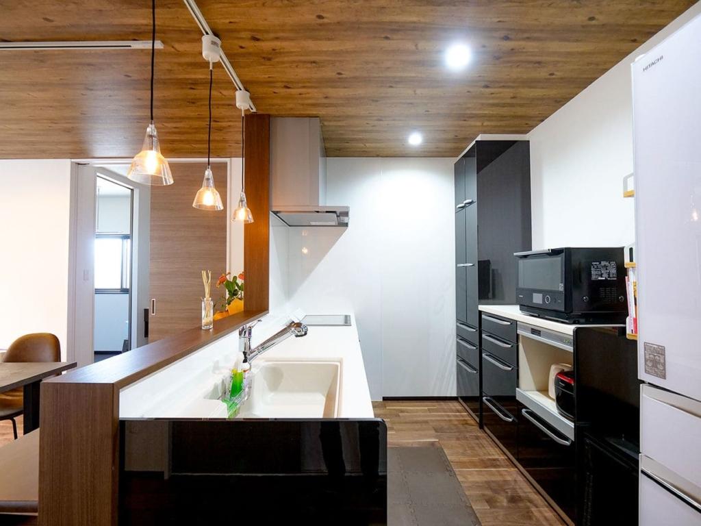 71.5坪の家の内観(キッチン)