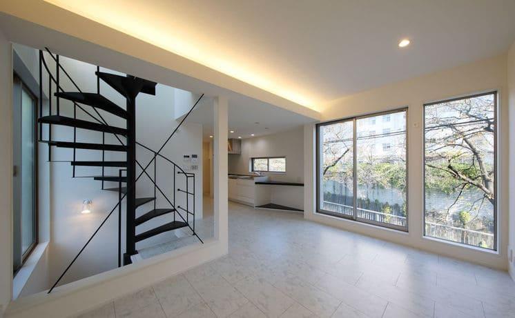 3階建ての家のLDK