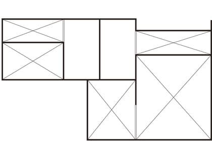 3階建ての家の間取り図(ロフト)