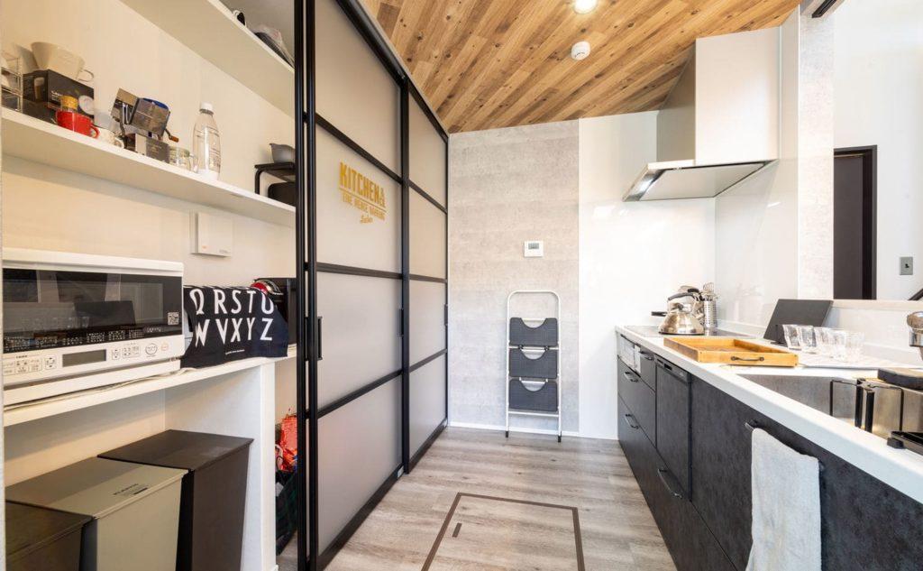 キッチン(20坪台平屋ローコスト)