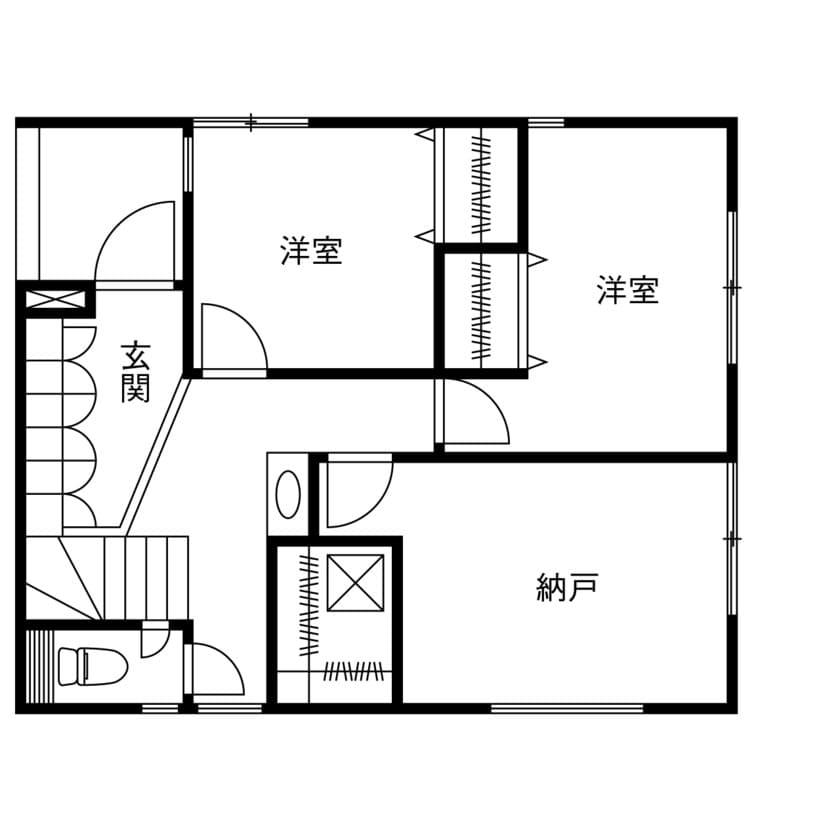 1階 間取り図(3LDK)