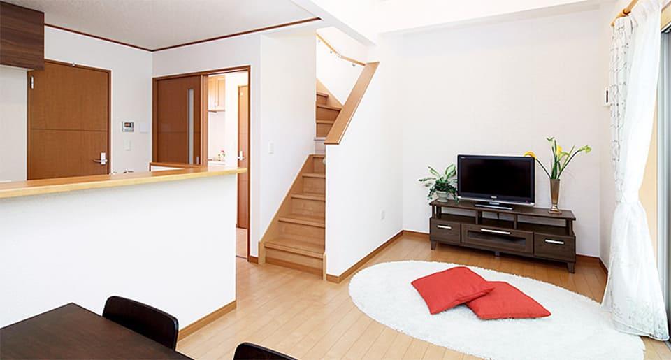500万円台の家(アーネストワン「クレイドルパレット580」)