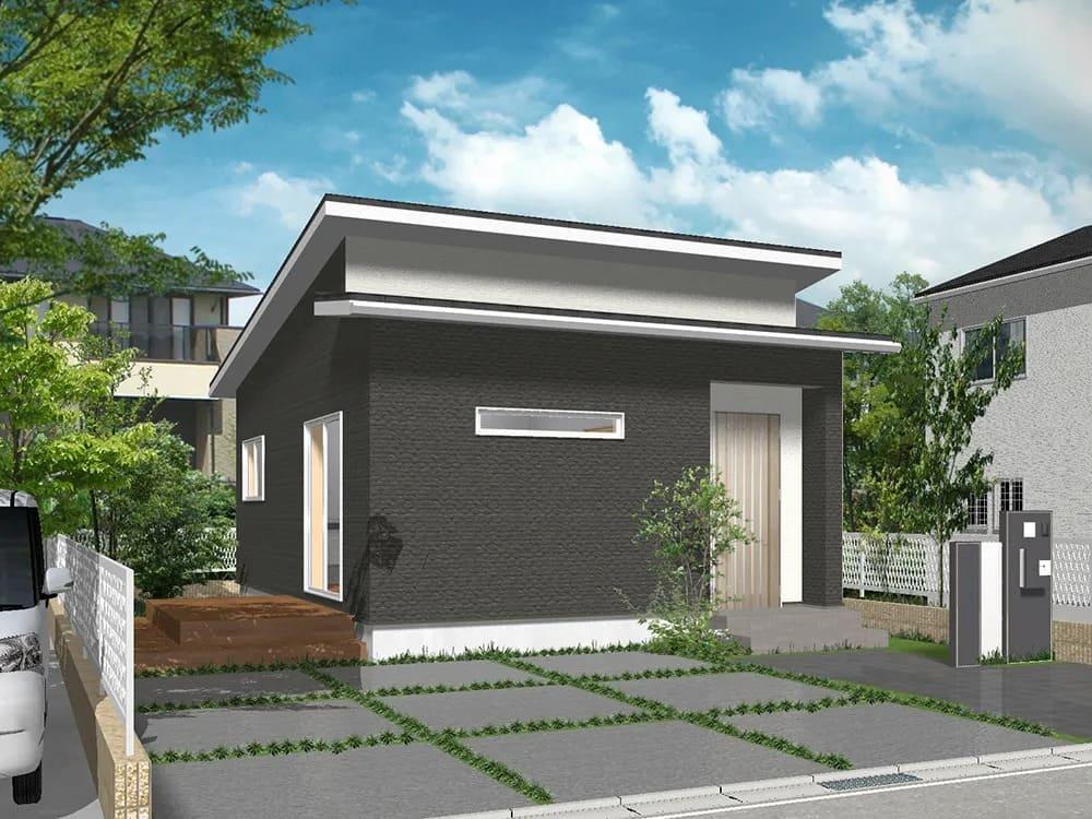 コミコミ800万円台の家(平屋の窓口『1LDK』MEW-12)